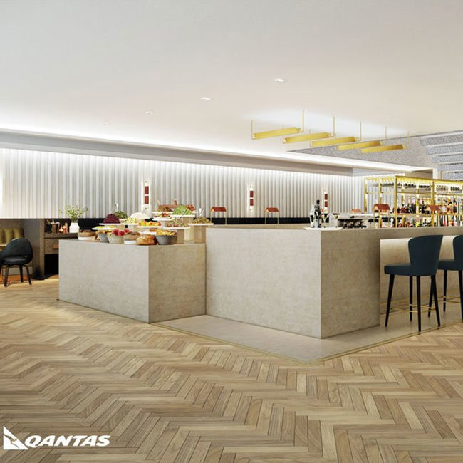 Qantas 1st Class Lounge Heathrow Newman MEP Services